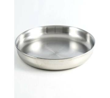 Stainless Steel Plate (24cm)
