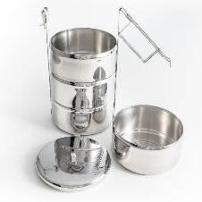 Stainless Steel Food Carrier (16cm)