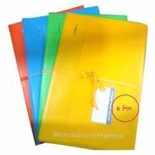 Matador Plastic Cort File - 4 pcs