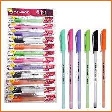 Matador Orbit Pen - Black - 24pcs