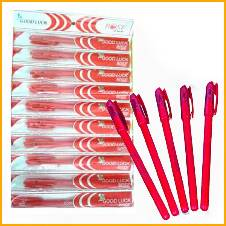 Good Luck Rose DF Red Ball Pen - 20 pcs