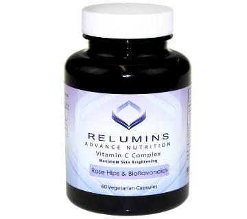 RELUMINS ADVANCE VITAMIN C (60 Vegetarian) ক্যাপসুল  - USA