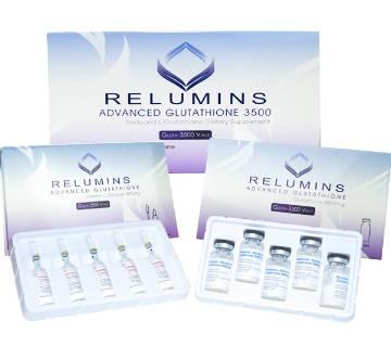 Relumins Advanced Glutathione 3500mg Set - Glutathione & Vitamin C NO BOOSTER - USA