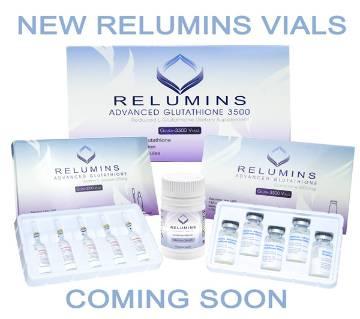 Relumins Advanced Glutathione 3500mg Set- Glutathione and Vitamin C PLUS বুস্টার- USA