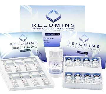 Relumins Advanced Glutathione 2000mg PLUS বুস্টার - Glutathione & Vitamin C with Gluta Boosters - USA