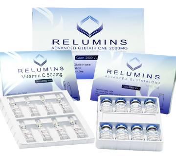 Relumins Advanced Glutathione 2000mg - Glutathione & Vitamin C - USA