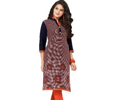 Indian Stitched Cotton Kurti