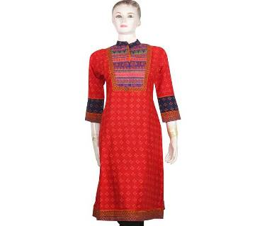 Stitched Cotton Kurti for Woman