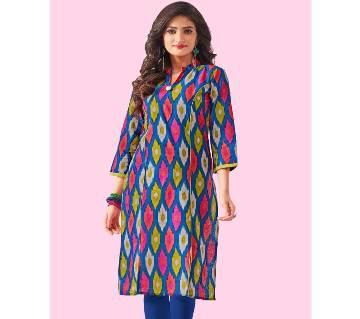 Indian stitched printed Cotton Kurti
