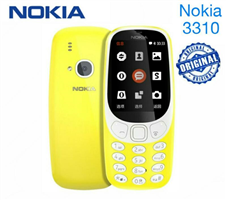 Nokia 3310 Feature Phone (2018) Yellow - Vietnam