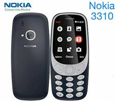 Nokia 3310 ফিচার ফোন (2018) ব্ল্যাক - ভিয়েতনাম