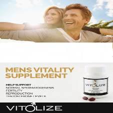 VITOLIZE - Mens Vitality Supplement (USA)