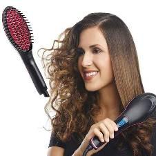 SIMPLY STRAIGHT Ceramic Hair Stretcher Brush