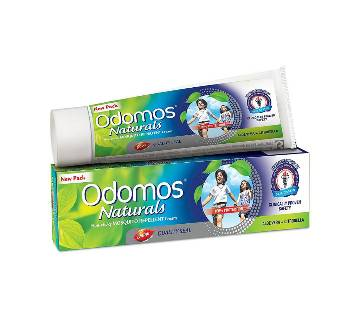 Odomos Naturals Non-Sticky Mosquito Repellent Cream - 50gm - India
