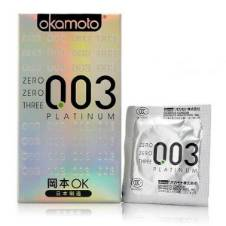 Okamoto 003 Platinum Super Ultra Thin Condoms - 10 Pieces