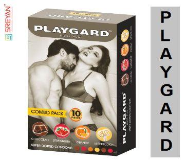 Playgard Combo Pack More Play Condoms-10pcs