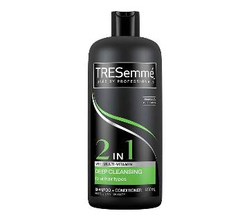 TRESemme Deep Cleansing Shampoo+Conditioner 2 in1 - UK 900ml