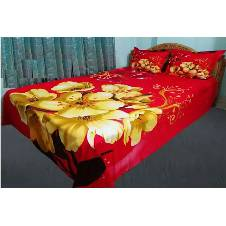 Cotton King Size Bed Sheet Set
