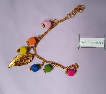 Multi color ladies bracelet