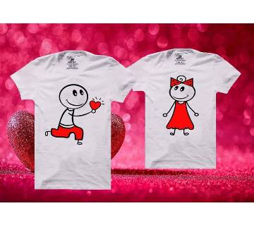 Will You Be My Valentine Mens Half  sleeve T-shirt