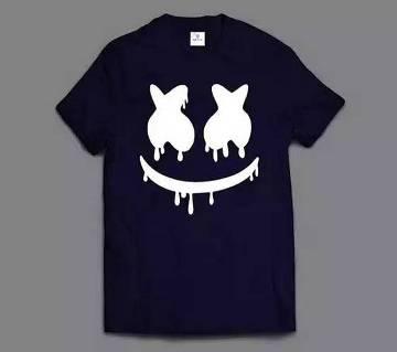 Marshmello Mens Half  sleeve T-shirt