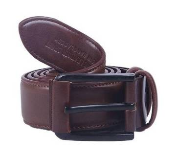 Brown Artificial Leather Casual Belt for Men