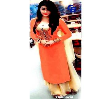 Indian weightless Georgette Embroidery salwer kameez Copy