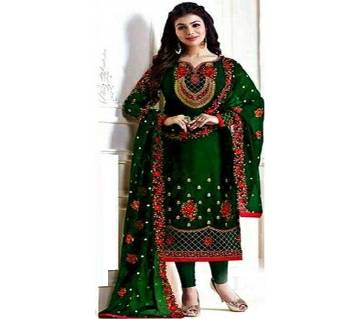 Unstitched Gorgette Embroidery Salwer kammez for Women