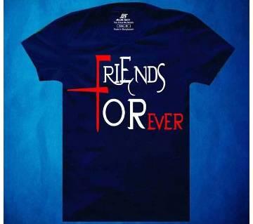 Friends Forever Mens Half  sleeve T-shirt
