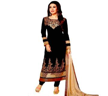 Unstitched Hand Block Print Cotton Salwar Kameez