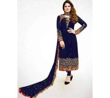 Unstitched Georgette Embroidery Salwar kameez For Women