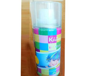 Kingeyes Hair Colour Spray Gold 120ml - China