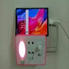 USB চার্জিং হোল্ডার নাইট লাইট মাল্টিপ্লাগ