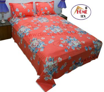 Printed bed sheet 100% cotton