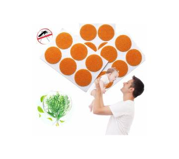 Natural Mosquito Repel Stcker 36 pc