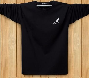 Black acrylic full sleeve Shirt