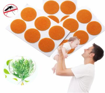 Natural Mosquito Repel Orange Patch