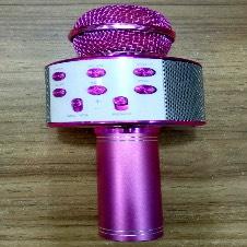 KARAOKE MICROPHONE SPEAKER QS-7