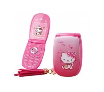 Hello Kitty W88 মিনি ফোল্ডিং ফোন