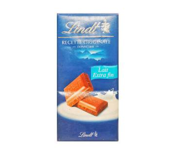 Lindt dark Swiss চকোলেট বার 100g France