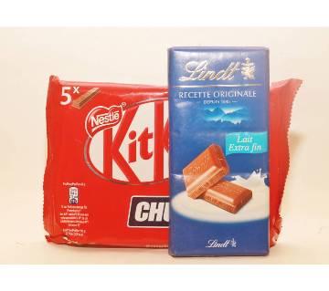 KitKat Chunky with Lindt Dark Bar চকোলেট France