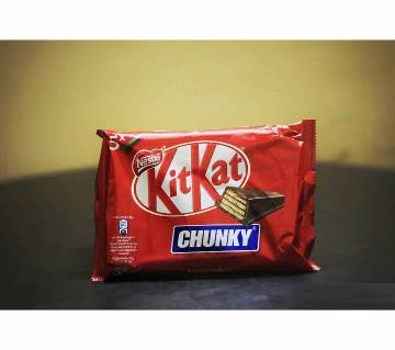 Kitkat Chunky 5x Candy Bars 200g Germany
