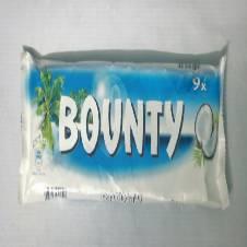 Bounty 9X Candy Bar 250g France