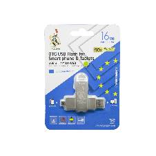 TEUTONS OTG USB ফ্লাশ ড্রাইভ 16 GB