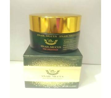 Snail Mucus Anti Wrinkle Eye Cream 30ml-korea