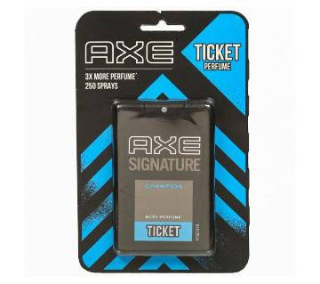 AXE Signature Champion Ticket Pocket Perfume 17ml India