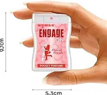 ENGAGE On Floral Fresh পকেট পারফিউম ফর উইমেন - 18 ml India