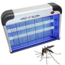 Electric Insect Killer Lamp - White and Black