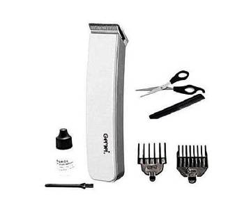 Gemei Rechargeable Hair Trimmer GM-701 - White