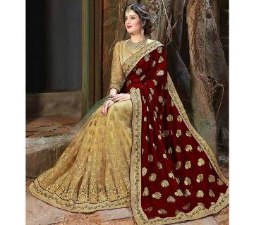 Indian Georgette Embroidery Sharee